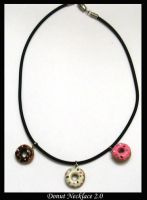 Donut Necklace 2.0 by chat-noir
