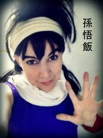 Sangohan Cosplay 2 by ladykobra