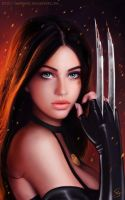 Realistic X23 by maohwolf