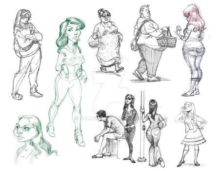 Sketches From the Street by PAllora