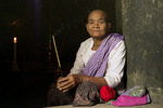 Old Woman At Angkor, Cambodia, 2008 by vanfoto