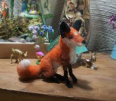 fi fai fo, felted fox for funn by Piquipauparro