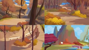 PK White Tail Woods thumbnails by Makkon