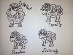 The story about the 4 sheep. by 13th-Kirin