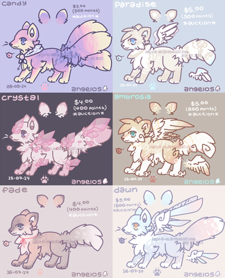 [3/6 OPEN FLAT SALE] PASTEL DREAMS by Ange-ll-os