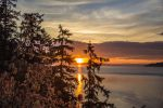 Sunset from Stanley Park by UberPickleMonkey