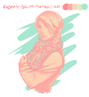 Pallete challenge - Rose Tyler by Miss-Alex-Aphey