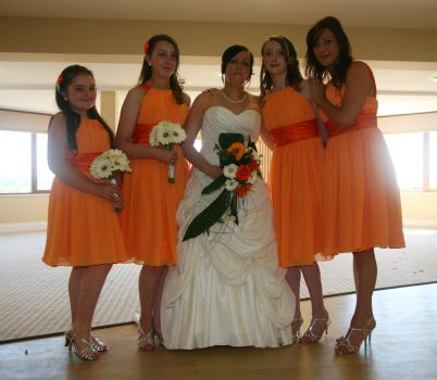 A Bridal Party Picture by amayafalls