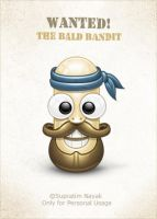 The Bald Bandit by HYDRATTZ