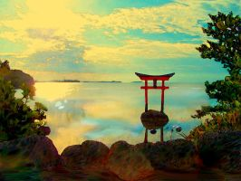 Japanise Garden1 by Magama1980