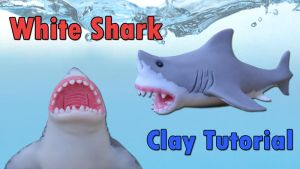 White Shark Figure (Check Video Tutorial :D!) by CraftDragons