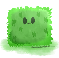 Minecraft - Fluffy slime by Steodoo