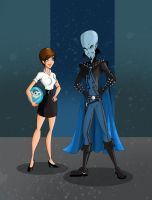 Megamind, Roxanne, Minion by Free-man12