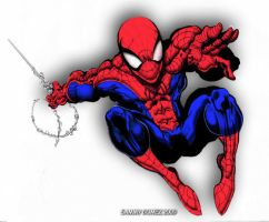 Spidey - digital by SammyG23