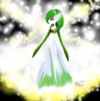 glowing gardevoir by Adrastia217
