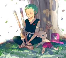 Zoro and Chopper [ONE PIECE] by ChappyVII