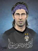Gianluigi Buffon by Ali-Shobbar