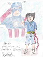 Freedom Prevails! - Happy 4th of July 2015! by AnimeJason2010