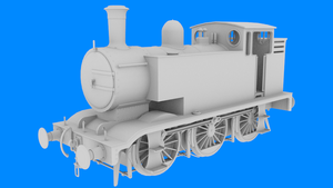 NWR Class T1 Locomotive WIP by WarshipNo10