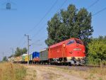 M61 019 with freight train near Gyor by morpheus880223