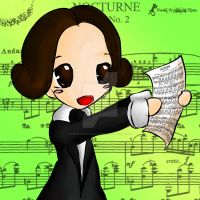 Frederic Chopin by Hoshi-Wolfgang-Hime