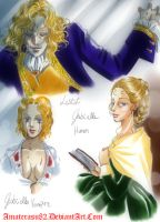 Lestat and Gabrielle Sketch by Amaterasu82