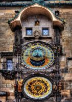 Prague Astronomical Clock by ruthsantcortis