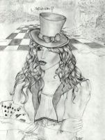 The Mad Hatter by Alaminia