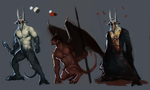 Soldiers of Hell by Yzah