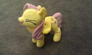 YAY!  Talking Fluttershy Plush by sockfuzzy