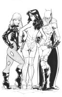 Commission DC Girls Final by rantz