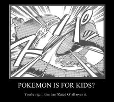 Pokemon, A Kid's Game