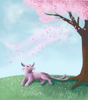 Espeon by superpsyduck
