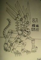 mecha flying monkey by yanharrison