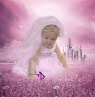 The girl in the meadow by miliana63