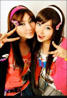 Ashley and Alodia by slumberdoll