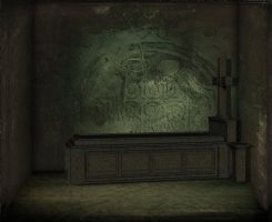 Dark Tomb Background by mysticmorning