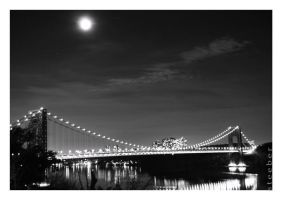 The Starry Night with the GWB by steeber