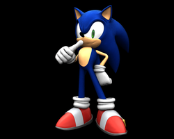 Sonic Generations Modern B-Rank pose by nothing111111