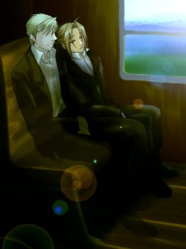 Train Ride by hime1999