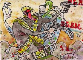 Grifter and Warblade by SpencerPlatt