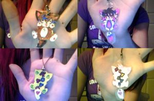 KottoxMiyavi Prototype Charms by queeniexunleashed