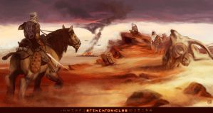 Erth Chronicles - Fire at Dawn by wredwrat