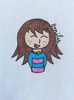 Gift: Frisk by Devil-The-Wolf
