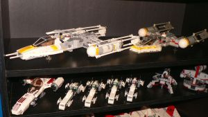 Lego Star Wars Collection Pt 2 by wingzero-01-custom