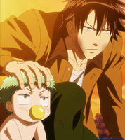 Oga and Baby-Beel 3 - assembly by ItachiGrayDLuffy