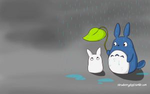 Totoro Wallpaper by chloefaith