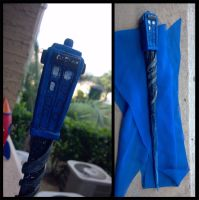 TARDIS Wand by ShadowMaginis