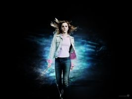 Hermione Wallpaper 2 by LifeEndsNow
