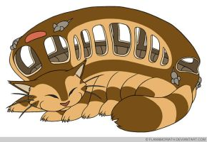 Catbus by FlannMoriath